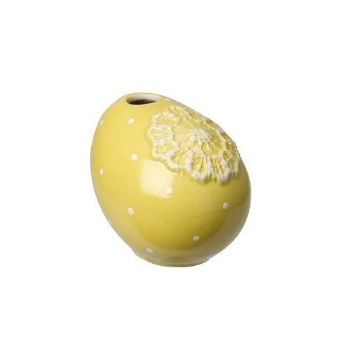 Villeroy & Boch Spring Decoration Spring Decoration Ei-Vase schräg, gelb 7cm (mehrfarbig)