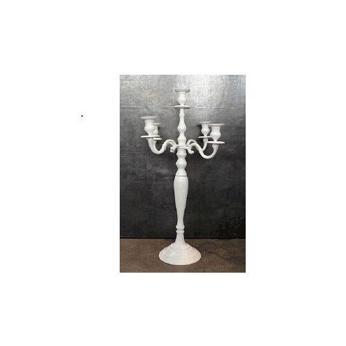MIGANI Kerzenleuchter Kerzenleuchter 77 cm (CAN A 20186,56 D) (weiss)