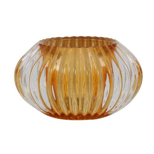 Light & Living Teelichthalter PERTU Teelichthalter Orange 6,5 cm (orange)