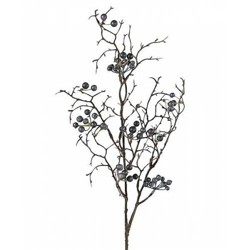 EK Kunstpflanzen & -blumen Beerenstrauch blau 71 cm (blau)