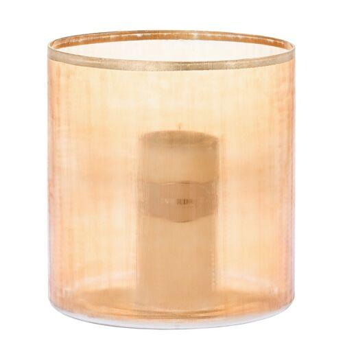 Riverdale Windlichter ohne Henkel Windlicht Blair orange 25 cm (orange)
