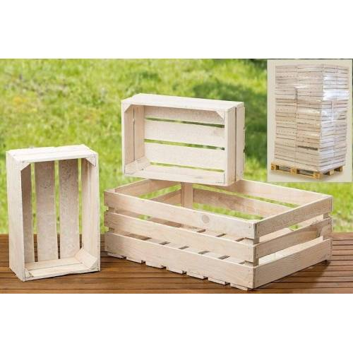 Boltze Schränke & Regale Porto Obstkiste Box weiss 60 cm (weiss)