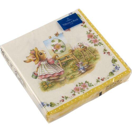 Villeroy & Boch Spring Fantasy Spring Fantasy Serviette Hasen 33 x 33 cm (mehrfarbig)