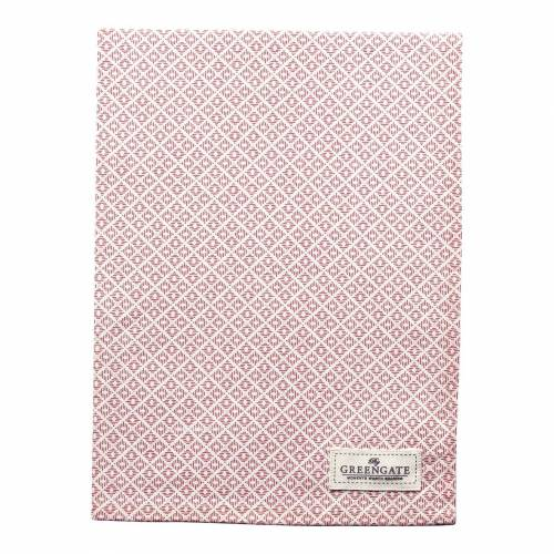 Greengate Adele, Isobel & Sandra Sandra Geschirrtuch pink 50 x 70 cm (pink)