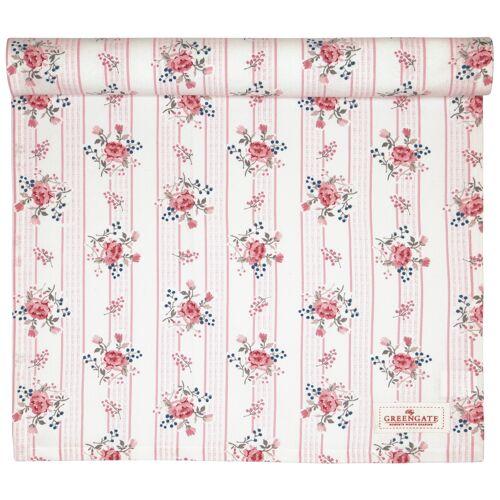 Greengate Fiona, Erin & Elisabeth Fiona Tischläufer pale pink 140 x 45 cm (pink)
