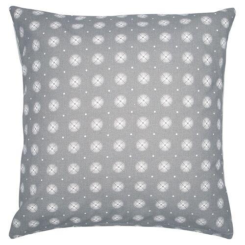 Greengate Alva, Nicoline & Saga Saga Kissen ohne Füllung warm grey 40 x 40 cm (grau)