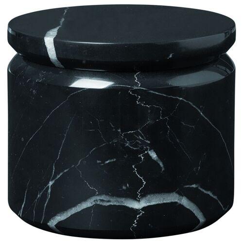 Blomus Aufbewahren PESA Marmor Aufbewahrungsdose black 9cm