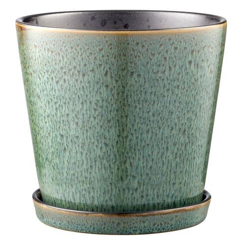 Bitz Blumentöpfe Blumentopf green / black 14 cm