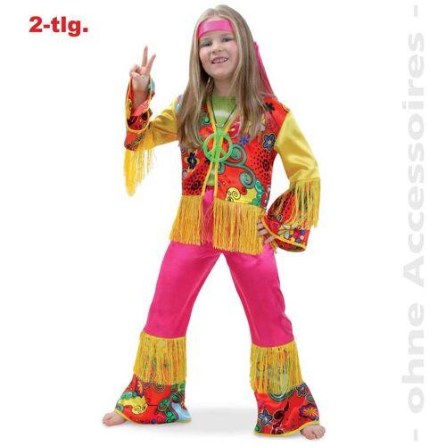 Gurimo-tex Kostüme für Kinder Kinder - Kostüm Hippie Girl Gr. 128 (11