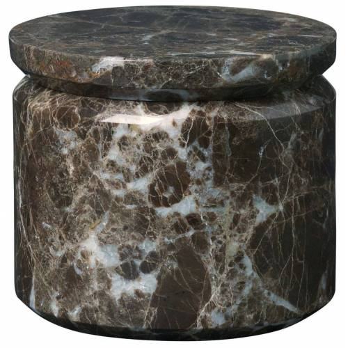 Blomus Aufbewahren PESA Marmor Aufbewahrungsdose brown 9cm