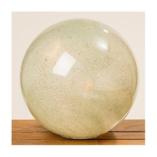 Boltze Tischleuchten Lampe Kugel Jade 29cm (grün)