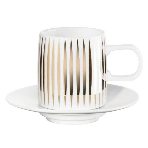 ASA Trèsor Tresor Espresso Tasse mit Untere 0,08 l (weiss)