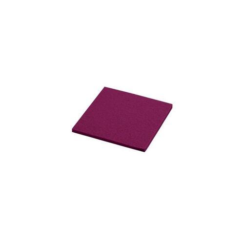 daff Untersetzer Untersetzer rubin 10x10cm (1655) NEU (rot)