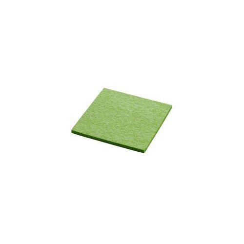 daff Untersetzer Untersetzer gift grün mel. 10x10cm (1647) (grün)