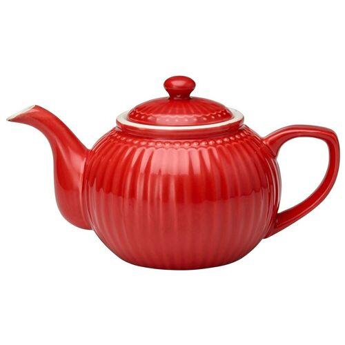 Greengate Alice Alice Teekanne red 1 L (rot)