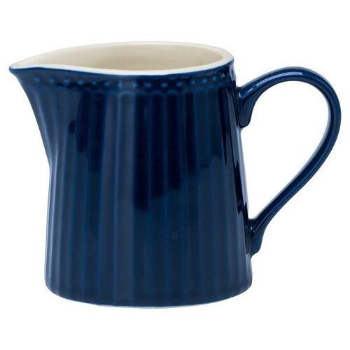 Greengate Alice Alice Milchkännchen dark blue 0,25 l (blau)