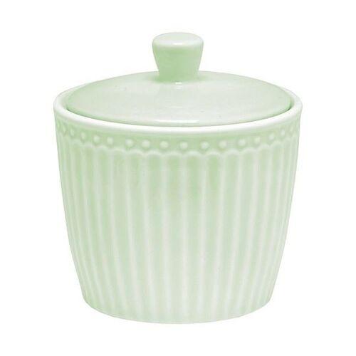 Greengate Alice Alice Zuckerdose pale green 10 cm (grün)