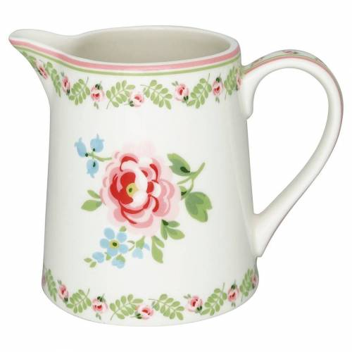 Greengate Lily Lily Krug petit white 0,5 L (weiss)