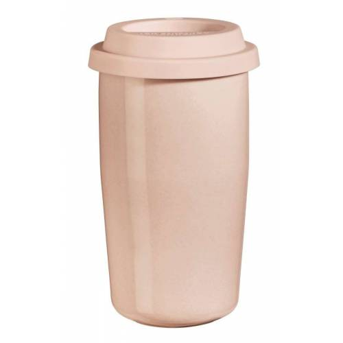 ASA THERMO cup & go Thermobecher rose Deckel rose 0,35 l