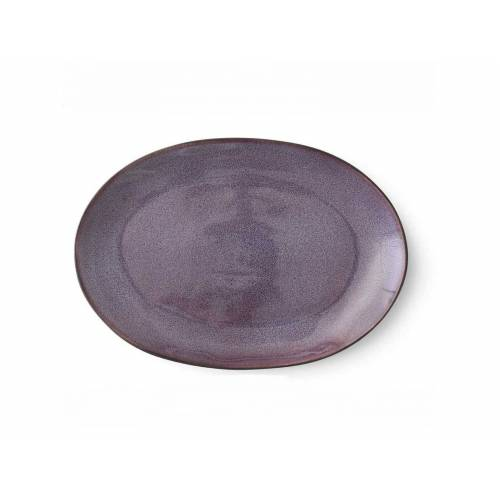 Bitz Black Platte black / lilac  36 x 25 cm