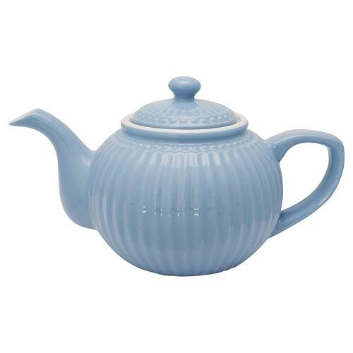 Greengate Alice Alice Teekanne sky blue 1 l (blau)