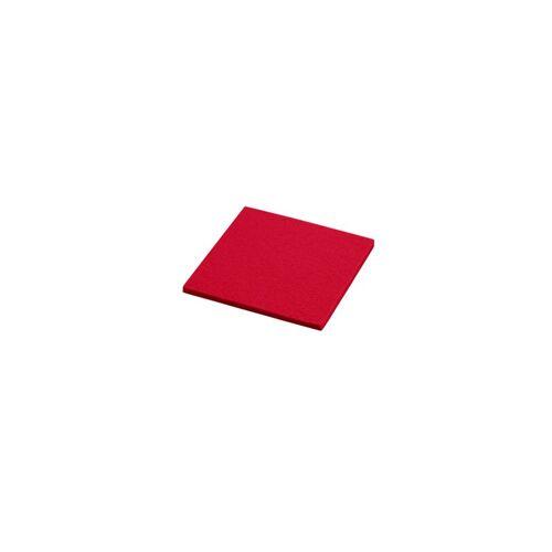 daff Untersetzer Untersetzer feuer 10x10cm (1604) NEU (rot)