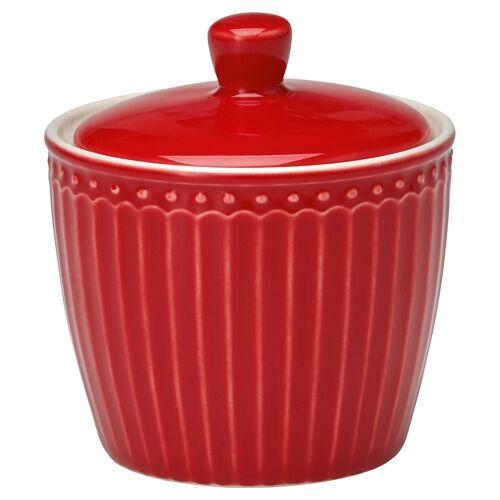 Greengate Alice Alice Zuckerdose red 10 cm (rot)