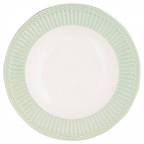 Greengate Alice Alice Suppenteller pale green 21,5 cm (grün)