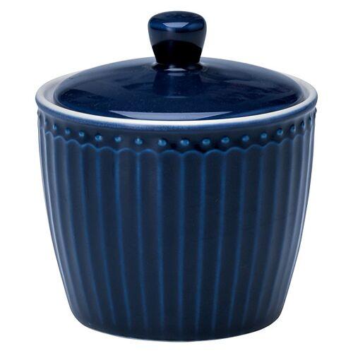 Greengate Alice Alice Zuckerdose dark blue 10 cm (blau)