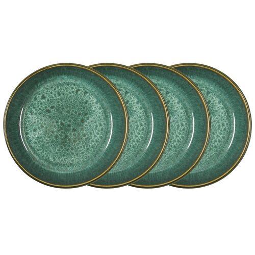 Bitz Green Suppenteller Set 4tlg. green 18cm (grün)