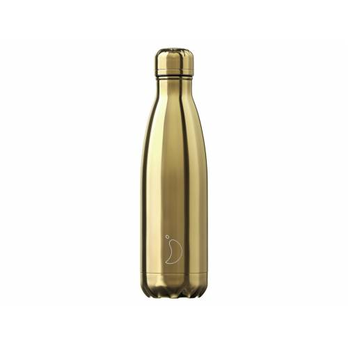 Chillys CHILLY'S CHILLY'S Bottle Chrome Gold 0,5 l (gold)