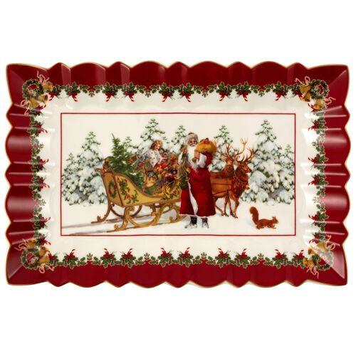 Villeroy & Boch Toy's Fantasy Toy's Fantasy Kuchenplatte Santa mit Schlitten