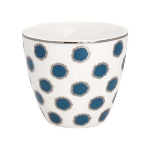 Greengate Avery & Savannah Savannah Latte Cup blue 10 cm