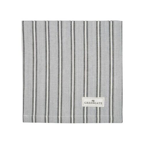 Greengate Alyssa, Riley & Tova Riley Stoffserviette grey 40x40cm (grau)