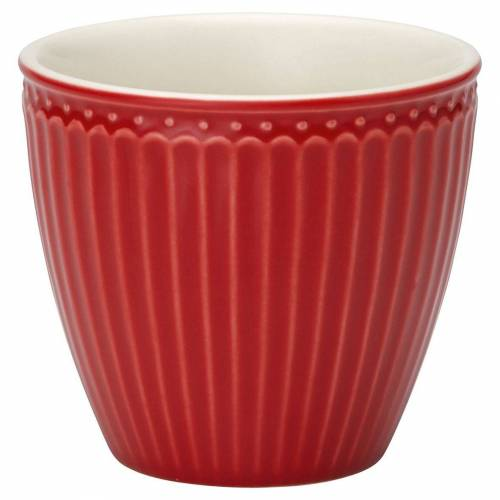 Greengate Alice Alice Latte Cup red 0,3 l (rot)