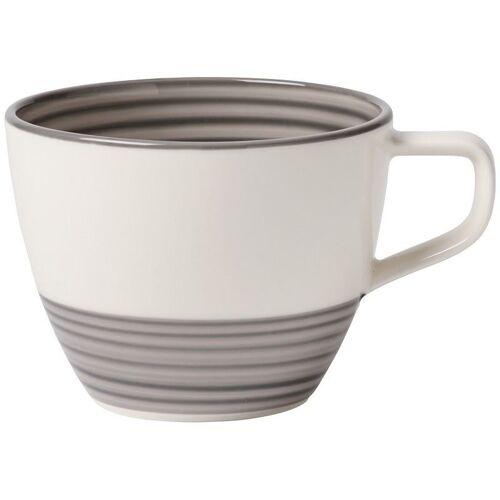 Villeroy & Boch Manufacture Manufacture gris Kaffeeobertasse 0,25l (grau)