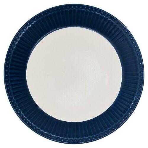 Greengate Alice Alice Frühstücksteller dark blue 23,5 cm (blau)