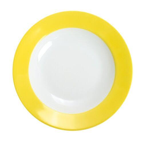 KAHLA Pronto zitronengelb Pronto zitronengelb Brunch-Teller 23 cm (gelb)