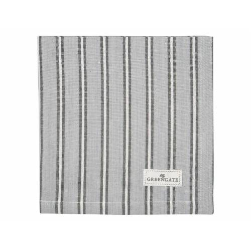 Greengate Alyssa, Riley & Tova Riley Stoffserviette grey 40 x 40 cm (grau)