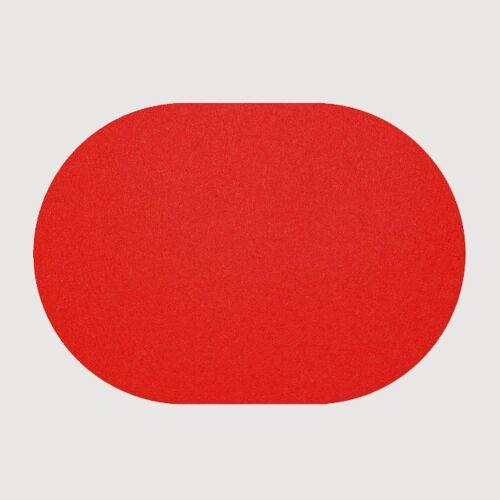 daff Tischsets Tischset Oval fire 34x42cm (rot)