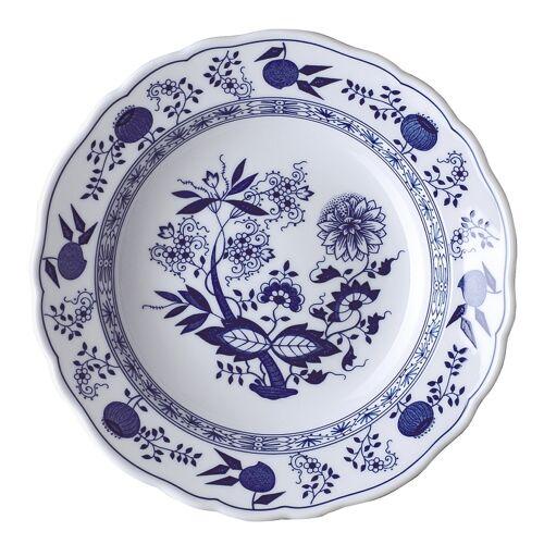 Hutschenreuther Blau Zwiebelmuster Blau Zwiebelmuster Suppenteller m. Fahne 23 cm (blau)