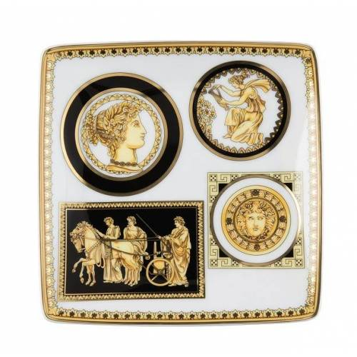 Versace Versace Serie Versace Tribute Cornici Schälchen quadr. 12 cm (mehrfarbig)