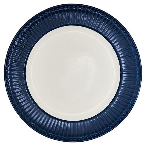 Greengate Alice Alice Speiseteller dark blue 25,6 cm (blau)