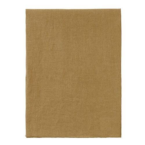 Blomus Tischdecken & -läufer LINEO Leinen Tischläufer Dull Gold 140 x 45 cm (gold)