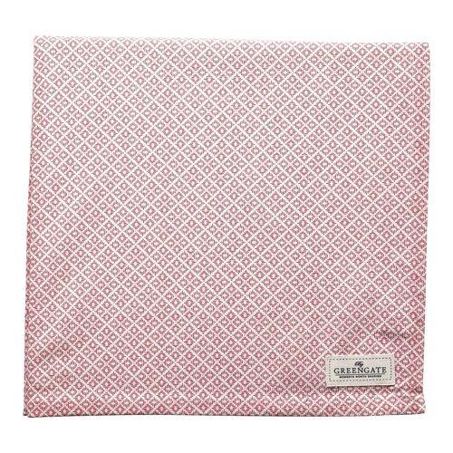 Greengate Adele, Isobel & Sandra Sandra Tischdecke pink 150 x 150 cm (pink)