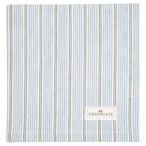 Greengate Alva, Nicoline & Saga Tova Stoffserviette pale blue 40 x 40 cm (blau)