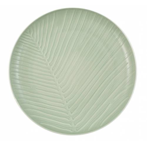 Villeroy & Boch it's my match mineral it's my match mineral Teller Leaf 24 x 3 cm (grün)