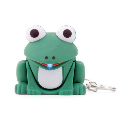 Vivara Schlüsselanhänger Frosch mit LED-Lampe