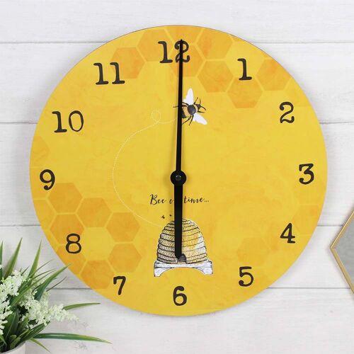 Vivara Wanduhr Bee on time