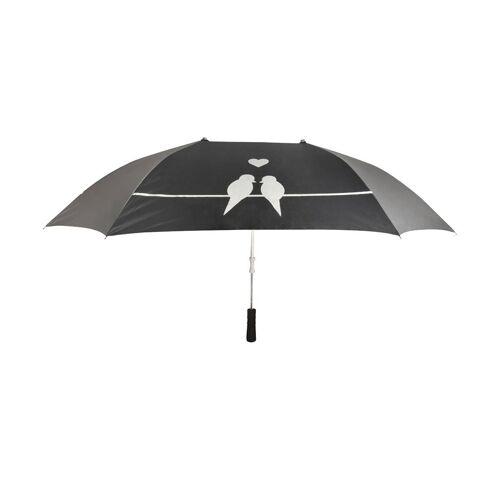 CJ / Vivara Duo-Regenschirm mit Vogelsilhouette